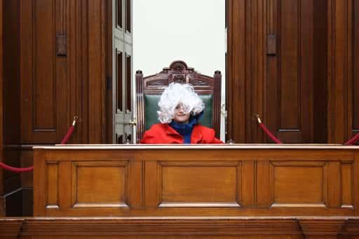 摘発に対する判決